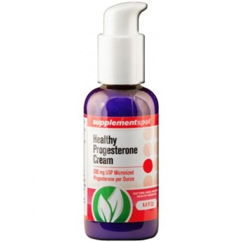 Healthy Progesterone Cream 125 мл - намалява симптомите и дискомфорта на менопаузата, предменструалния синдром и предменопаузата
