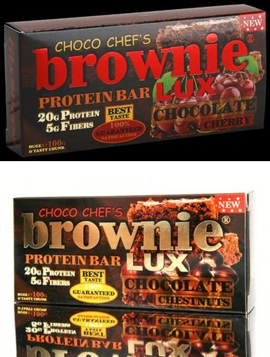 BROWNIE PROTEIN BAR LUX 1 бр. X 100 гр.