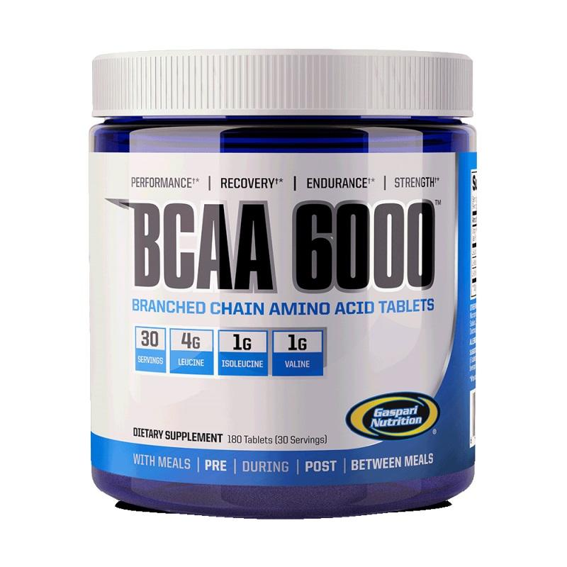 BCAA 6000 - 180 Таблетки Gaspari