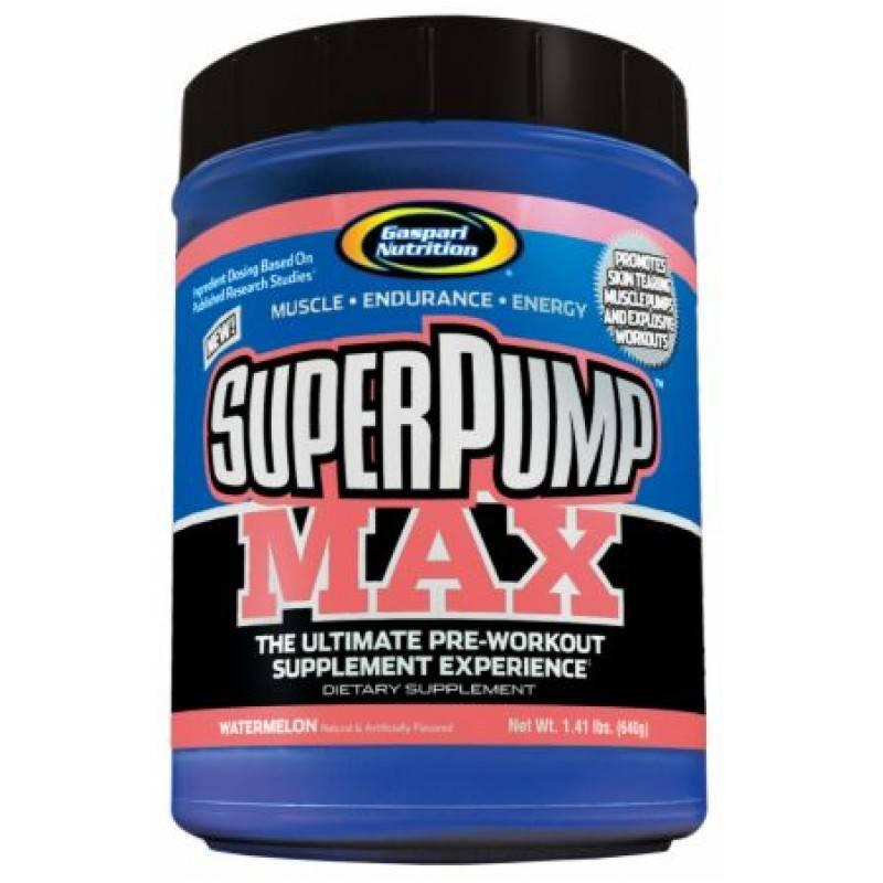 SuperPump MAX Powder - 640 г Gaspari Nutrition