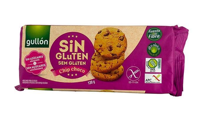 Бисквити шоко чип(без глутен),130 гр.