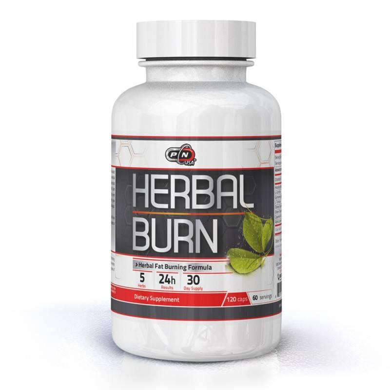 HERBAL BURN - 120 Капсули Pure Nutrition