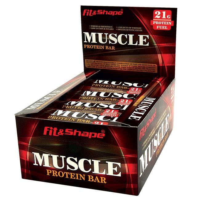 MUSCLE ® PROTEIN BAR - 70гр FIT & SHAPE