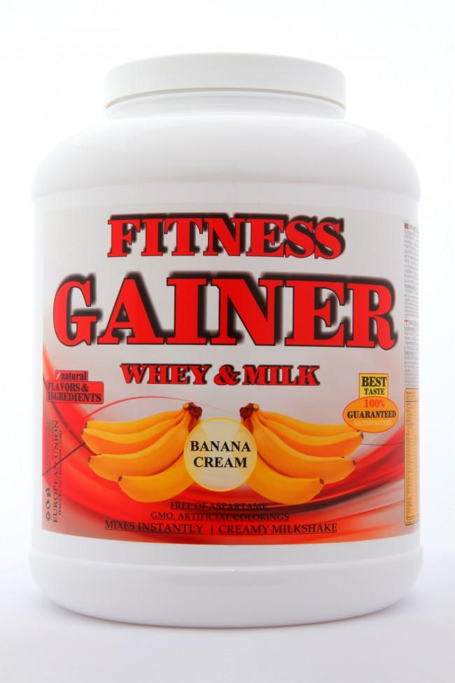 FITNESS GAINER 4 540g