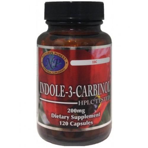 Indole-3-Carbinol 200 mg 120 capsules антиоксидантен ефект