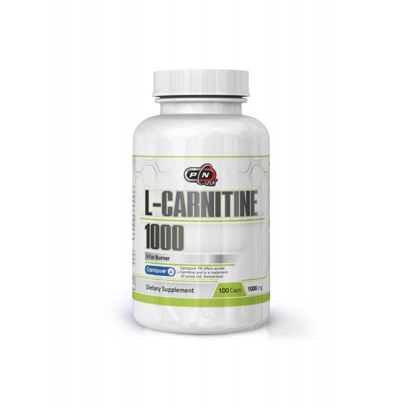 L-CARNITINE 1000 МГ - 100 Капсули