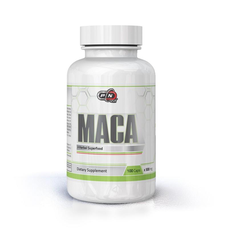 MACA 500 мг 100 капсули Pure Nutrition