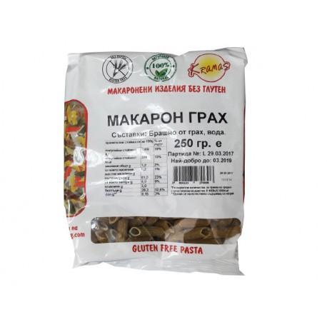 Безглутенови макарони от Грах 250 гр.