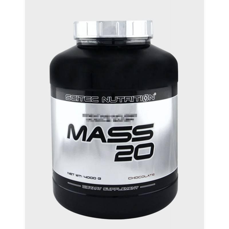SCITEC - Mass 20 - 4000г