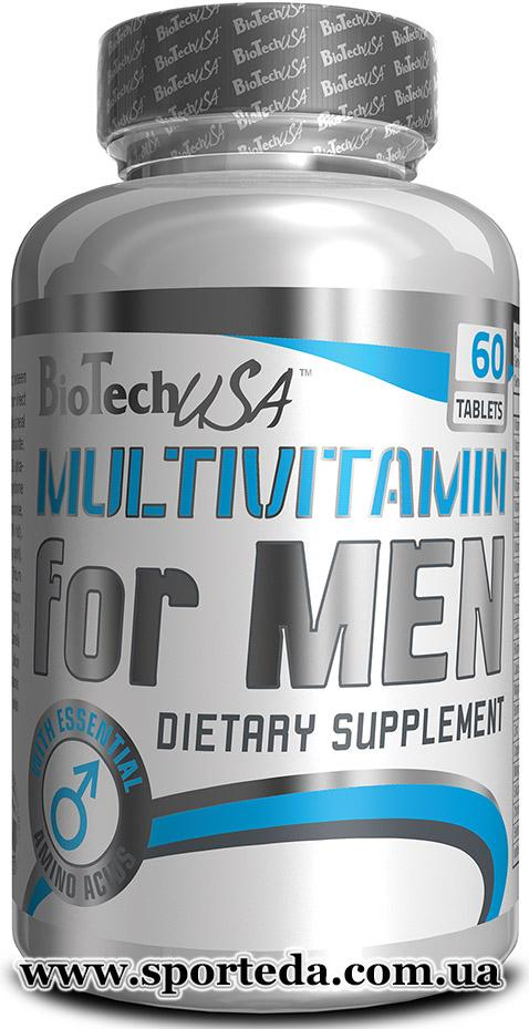 BioTech - Multivitamin for Man - 60 таблетки