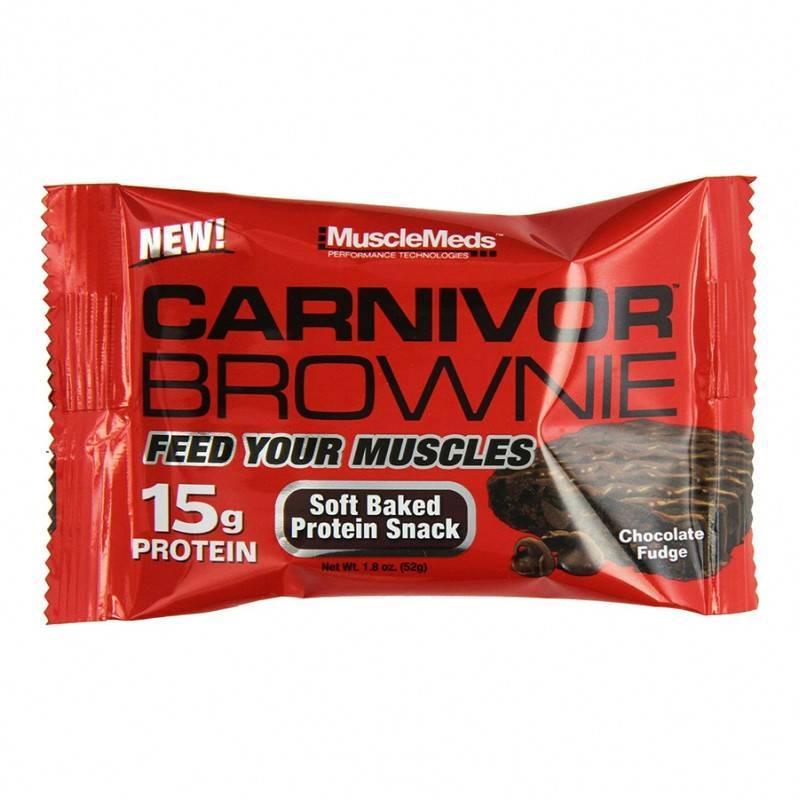 Carnivor Brownie - 52 Г MuscleMeds
