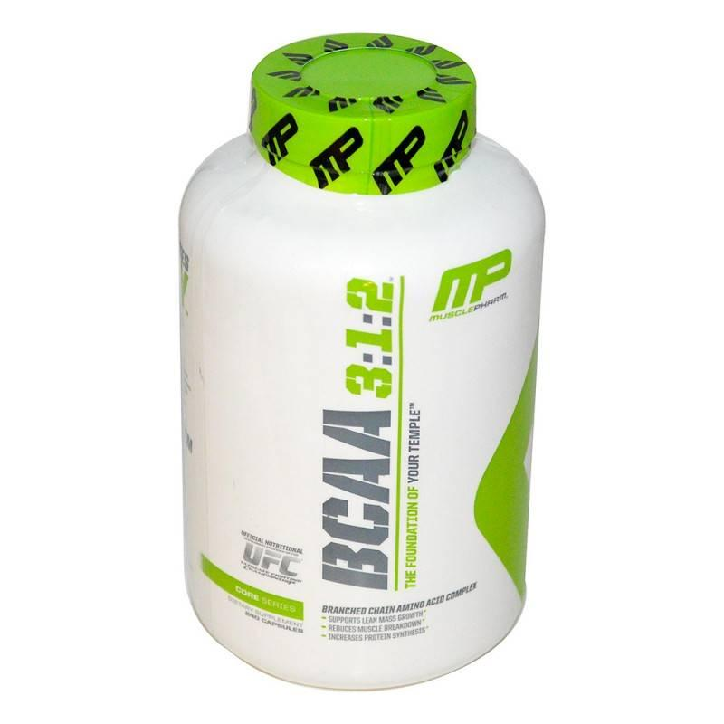 MusclePharm - BCAA 3:1:2 - 240 Капсули