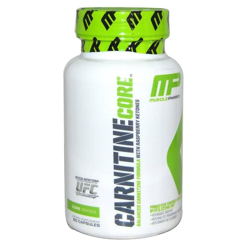MusclePharm - Carnitine Core - 60 Капсули