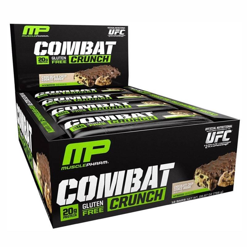 MusclePharm - Combat Crunch Bar - 63 Г
