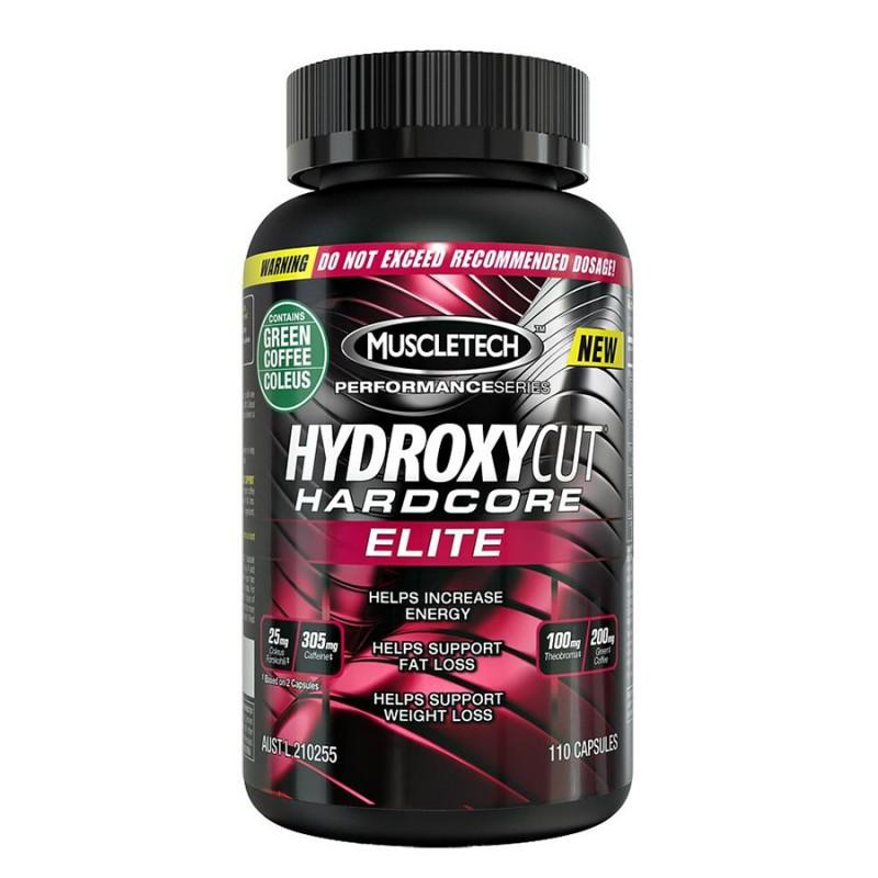 MuscleTech - Hydroxycut Hardcore Elite - 110 Капсули