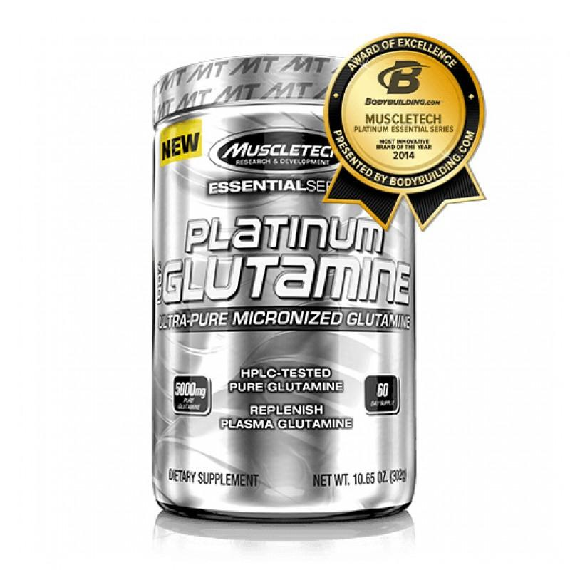 Muscletech - Platinum 100% Glutamine - 300 Г
