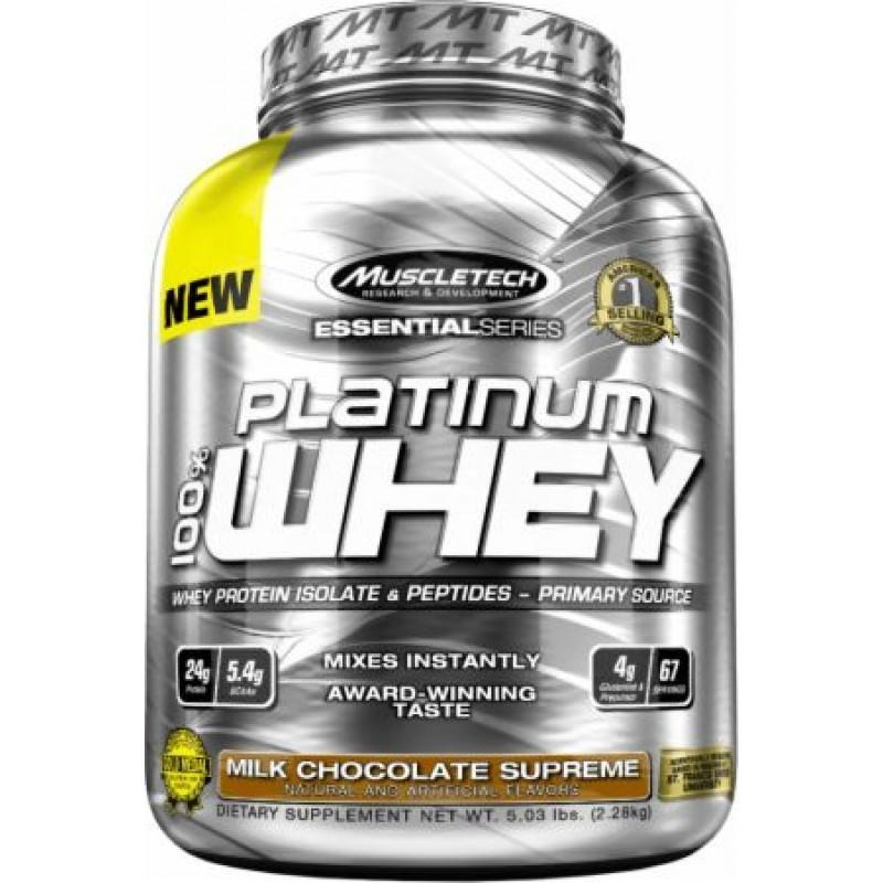 MUSCLETECH - Platinum 100% Whey - 5 LB