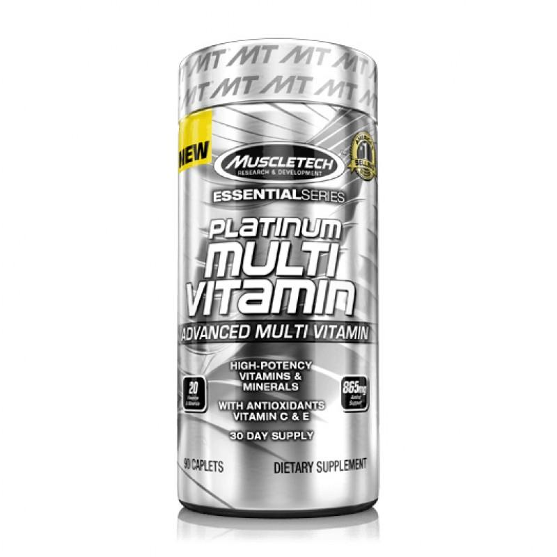 MUSCLETECH - Platinum Multivitamin - 90 Капсули