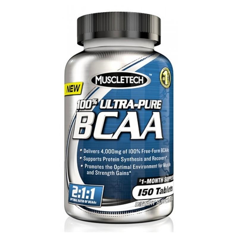 MuscleTech - Ultra-Pure BCAA - 150 Таблетки