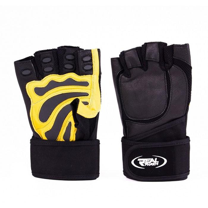Фитнес ръкавици с накитници Real Pharm Hardcore