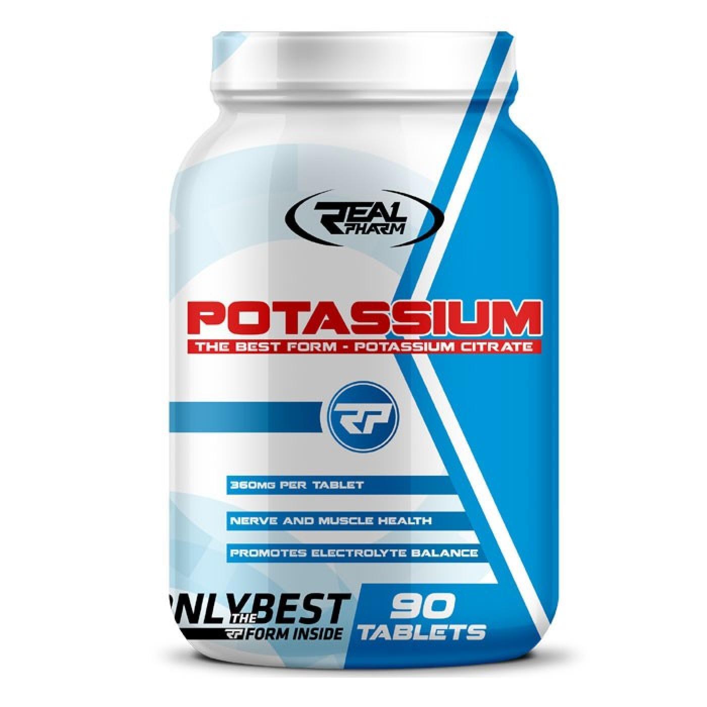 Potassium 90 таблетки REAL PHARM