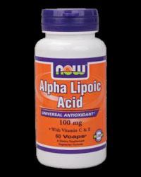 Alpha Lipoic Acid 100 mg, 60 caps.