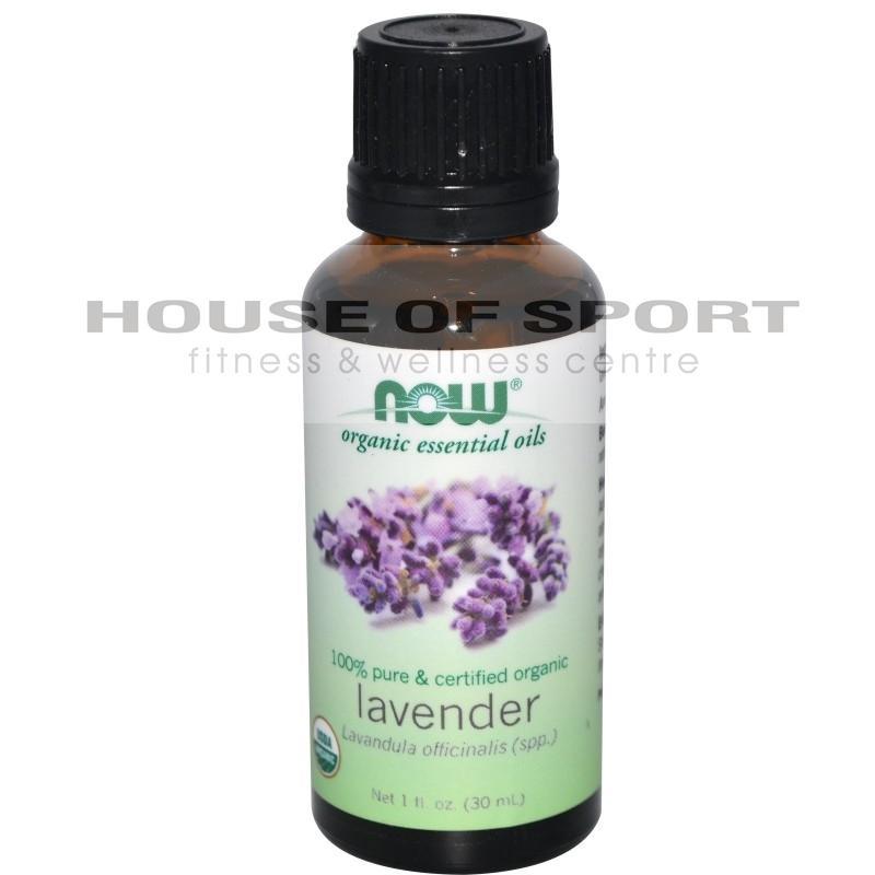 Органично масло от лавандула - 30ml - NOW