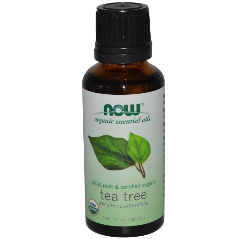 Органично масло от чаено дърво 30ml NOW
