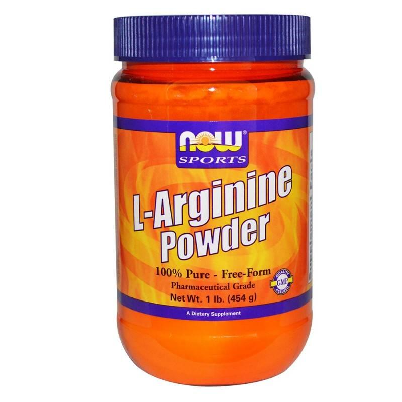 NOW Sports - Arginine Powder - 454 Г