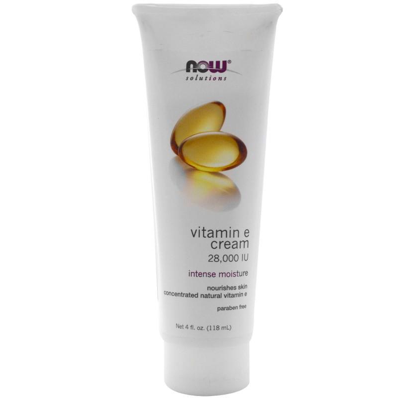Vitamin E 28,000 IU Cream - 118ml - NOW