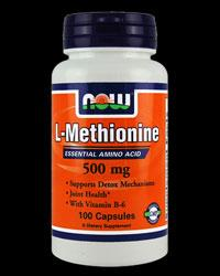 L-METHIONINE 500 МГ - 100 КАПСУЛИ