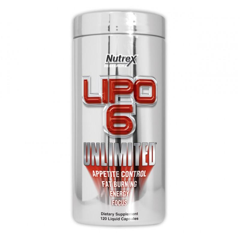 Lipo-6 Unlimited - 120 Капсули