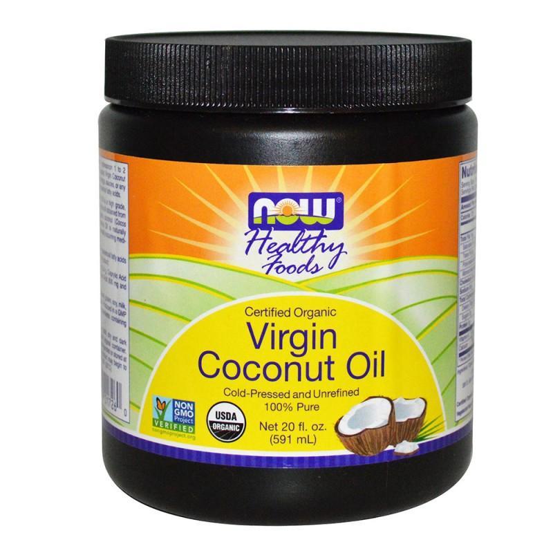 Кокосово масло VIRGIN (ORGANIC) - 570 Г NOW