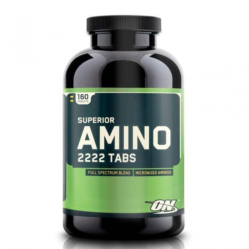 Optimum Nutrition - Amino 2222 - 160 Таблетки