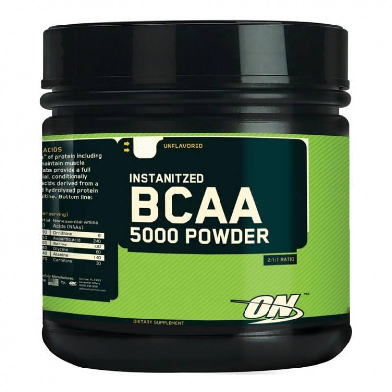 Optimum Nutrition - BCAA 5000 Powder - 336 Г