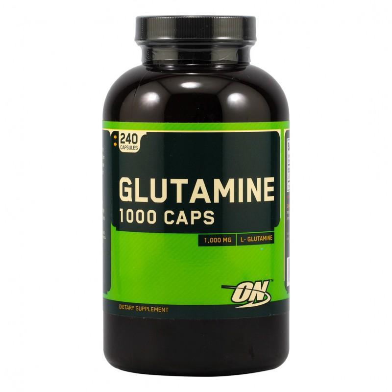 Optimum Nutrition - Glutamine 1000 МГ - 240 Капсули