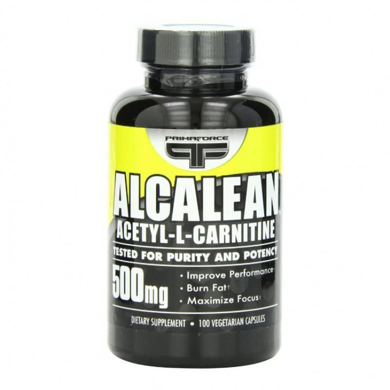 PRIMAFORCE - ALCALEAN (Acetyl L-Carnitine) - 100 Капсули