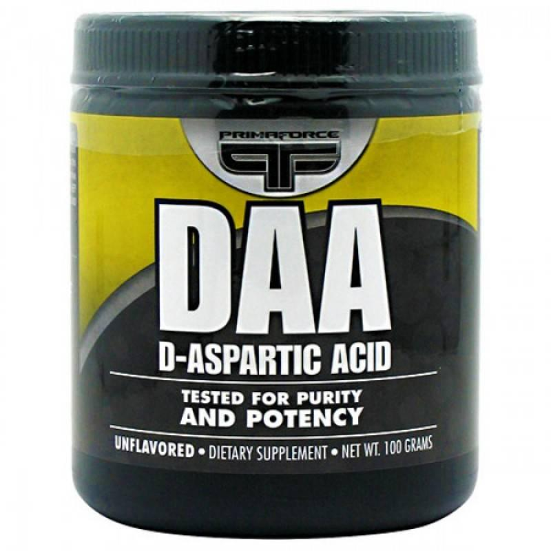PRIMAFORCE - DAA (D-Aspartic Acid) - 100 Г