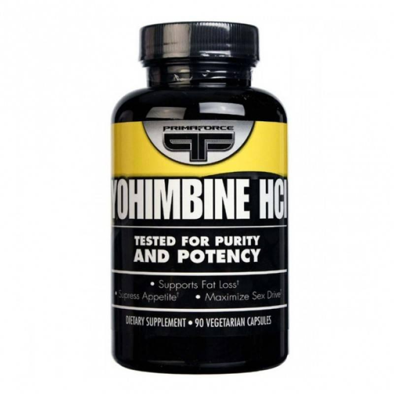 PRIMAFORCE - Yohimbine HCL - 90 Капсули