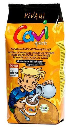 Био какаова напитка, Caviquick