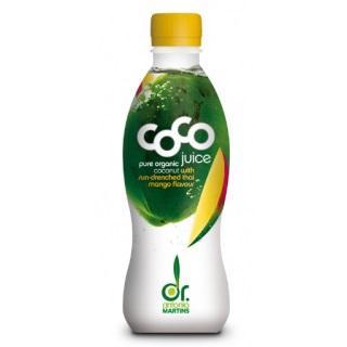 Био кокосова вода с манго, 330ml
