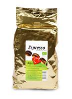 Био кафе еспресо на зърна, 1 кг