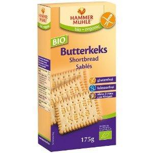 БИО Безглутенови обикновени бисквити с масло