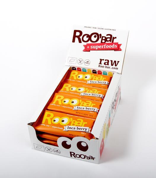 Кутия ROOBAR с инка бери и портокал, 20 x 30г