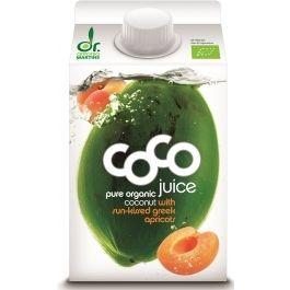 Био кокосова вода с кайсия, 500ml