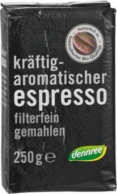 Био кафе еспресо мляно, 250 г