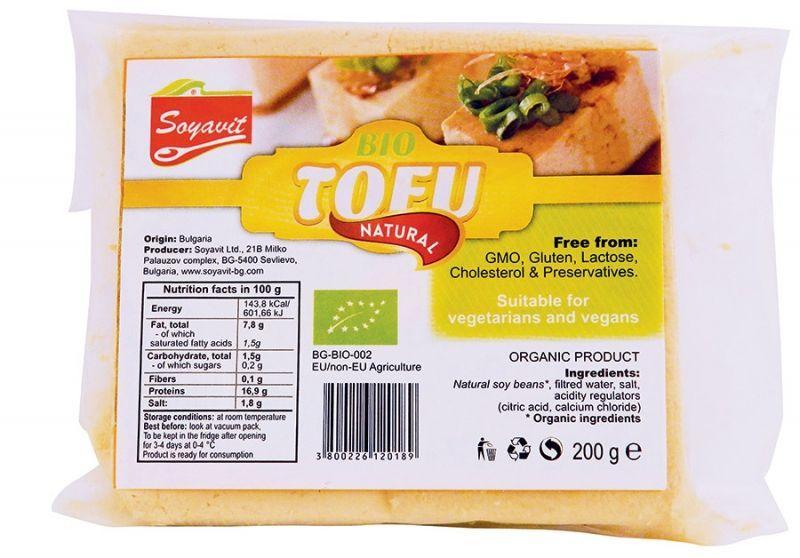 Био тофу, натурално