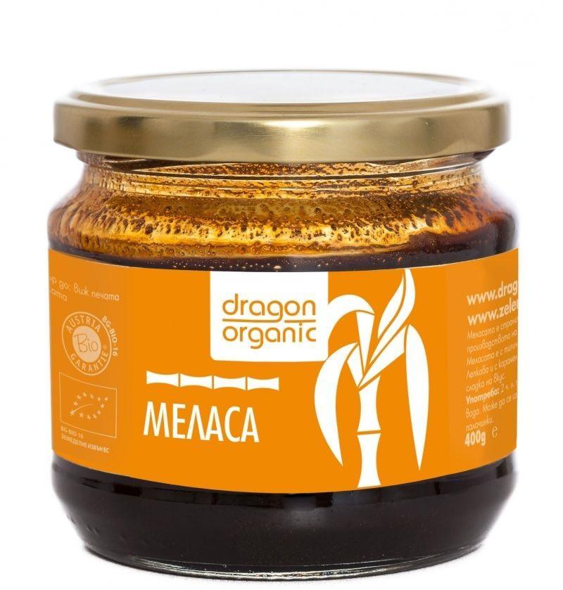 Био Меласа от Захарна Тръстика, Dragon Superfoods, 400 g