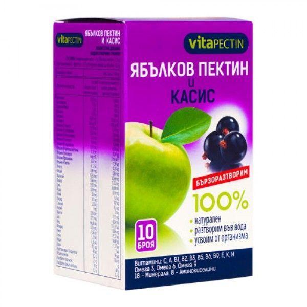 ЯБЪЛКОВ ПЕКТИН И КАСИС 10X14g