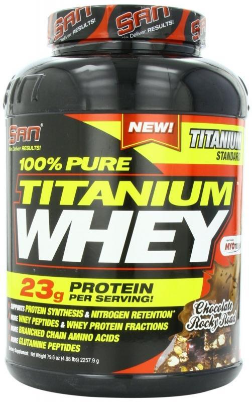 SAN - Pure Titanium Whey - 5 lb